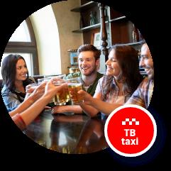 Drink taxi Tábor - TBtaxi