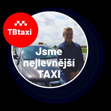 Jsme nejlevnější taxi v Táboře
