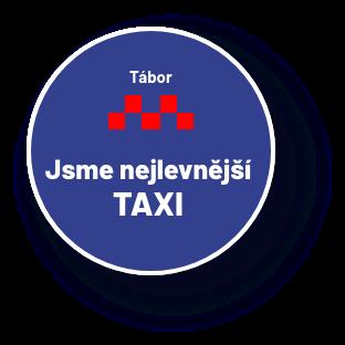 Nejlevnější taxi v Táboře TBtaxi